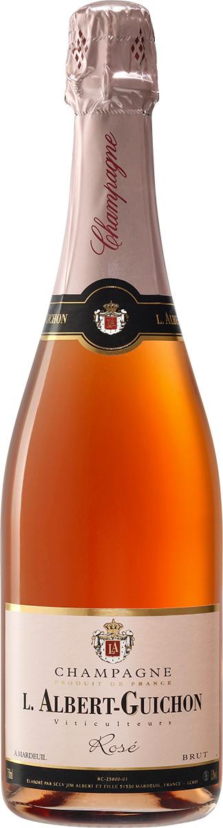 Cuvée Rosé Champagne L. Albert-Guichon