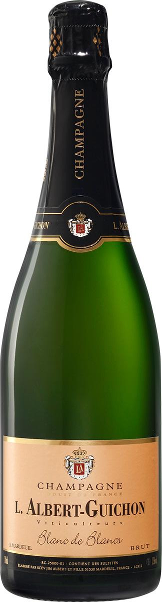 Cuvée Blanc de Blancs Champagne L. Albert-Guichon