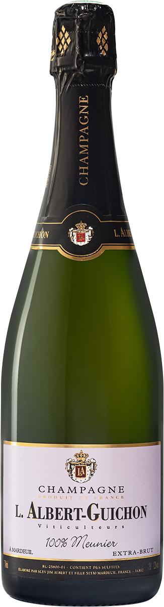 Cuvée 100% Meunier Champagne L. Albert-Guichon
