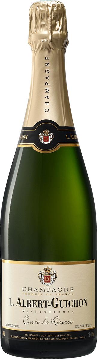 Cuvée Réserve Demi-Sec Champagne L. Albert-Guichon